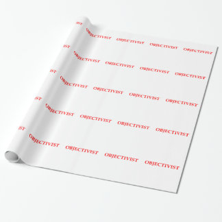 objectivist wrapping paper