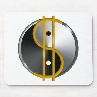 Objectivist Yin/Yang  mouspad Mouse Pad