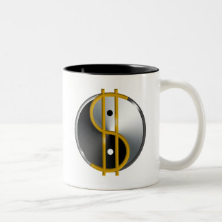 Objectivist Yin/Yang  mugs