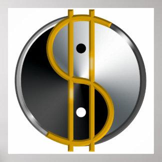 Objectivist Yin/Yang poster