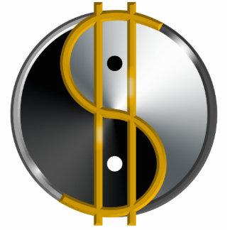 Objectivist Yin/Yang sculpture