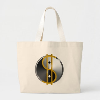 Objectivist Yin/Yang  tote Tote Bags