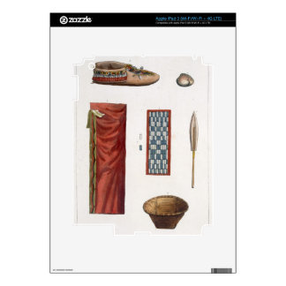 Objects belonging to Canadian Indians (colour engr Skin For iPad 3