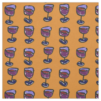 Objects III (2015) (Wine) Fabric