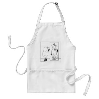 Objects In Mirror Bear No Relation To Reality Adult Apron