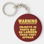 Objects In Pants Keychain