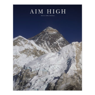 Objetivo alto - Mt Everest Posters