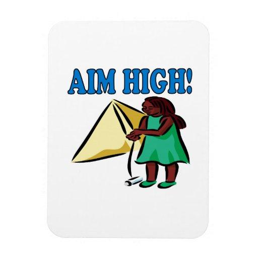 Objetivo alto rectangle magnet