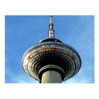 objetivo de la torre de Berlín Televison al cielo Postales