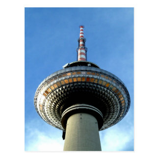 objetivo de la torre de Berlín Televison al cielo Tarjeta Postal
