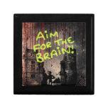 Objetivo para el cerebro cajas de regalo