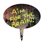 Objetivo para el cerebro figuras para tartas