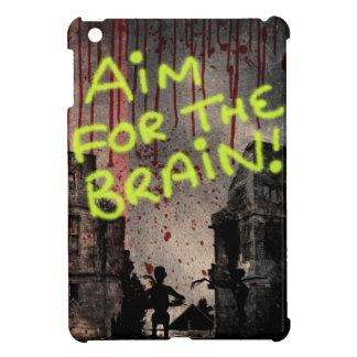 Objetivo para el cerebro iPad mini cárcasas