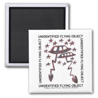 Objeto de vuelo no identificado imán