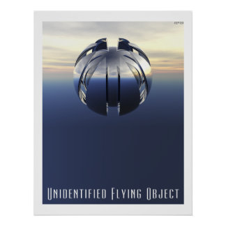 Objeto de vuelo no identificado póster