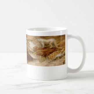 objeto expuesto del dinosaurio del palacio taza clásica