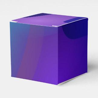 Objetos abstractos en el cuarto azul caja para regalo de boda