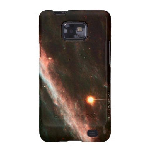 Objetos celestiales galaxy s2 funda