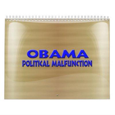 Objetos de recuerdo de la elección de Anti-Obama Calendarios