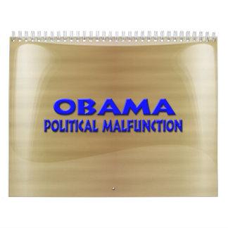 Objetos de recuerdo de la elección de Anti-Obama Calendario