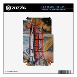 Objetos de recuerdo históricos de Rocket 1969 de iPod Touch 4G Skin
