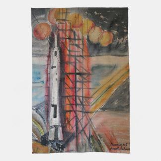 Objetos de recuerdo históricos de Rocket 1969 de Toallas De Mano