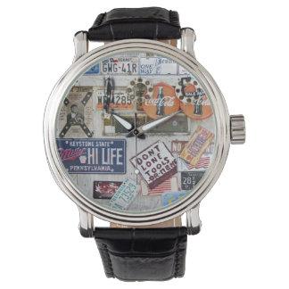 Objetos de recuerdo reloj de mano
