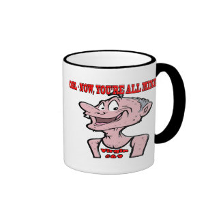 OBL - Now, You're All Mine !!!! Virgin #69 Ringer Coffee Mug