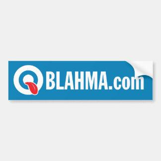 OBLAHMA.COM PEGATINA DE PARACHOQUE