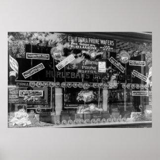 Obleas de la pasa de California, 1890s Póster