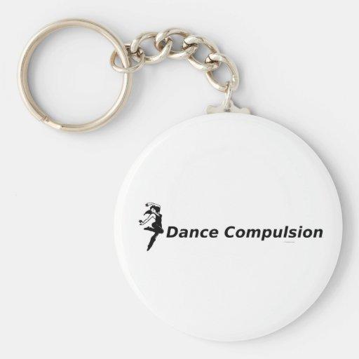 Obligación SUPERIOR de la danza Llaveros