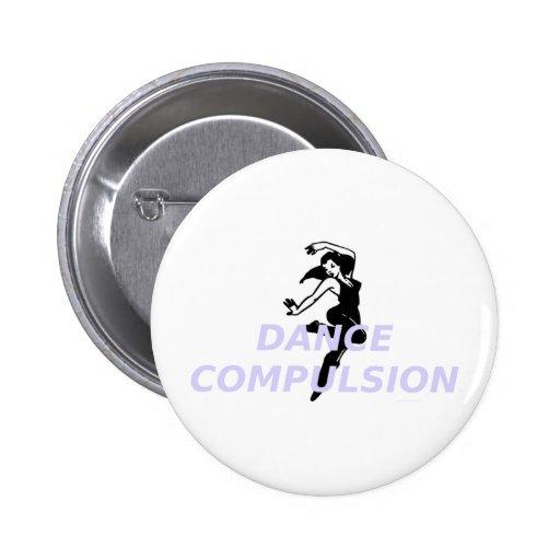 Obligación SUPERIOR de la danza Pins