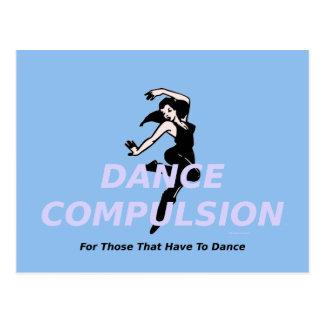 Obligación SUPERIOR de la danza Tarjetas Postales