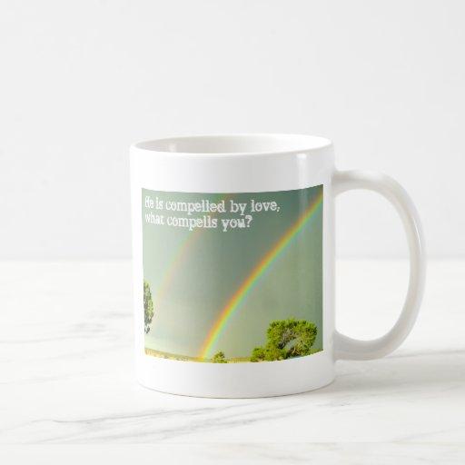 Obligado por el amor tazas de café
