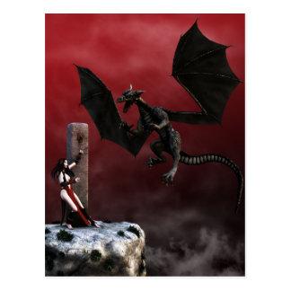 Obligations Gothic Fantasy Art Postcard