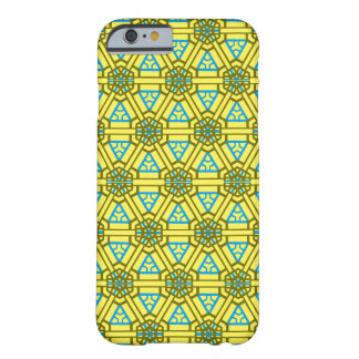 Oblique Order in Sunflower & Blue (Taut Waffle) Barely There iPhone 6 Case