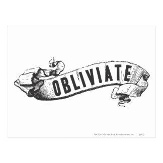 Obliviate Postcard