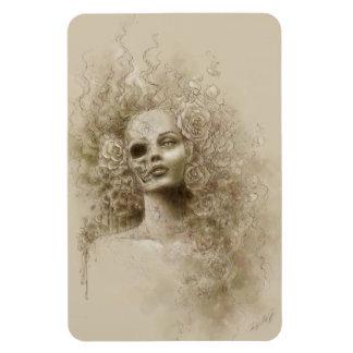 Oblivion Macabre Fantasy Art Flexible Magnet