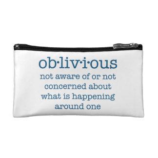 Oblivious cosmetic bag (blue)