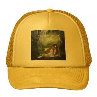 Oblivious in the Forest Cap Trucker Hat
