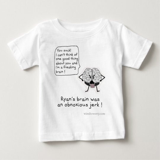 Obnoxious Brain Baby T-Shirt
