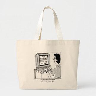 Obnoxious Computer Software Bag