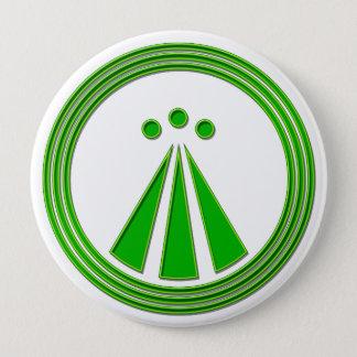 OBOD Symbol Neon Green Pinback Button
