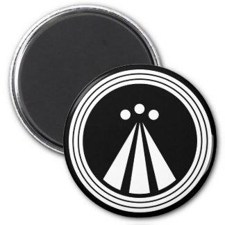 OBOD Symbol on Blk Magnet