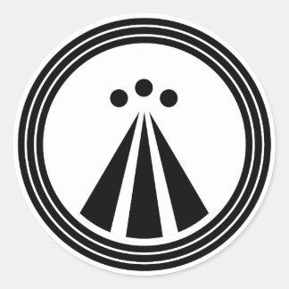 OBOD Symbol Round Sticker