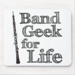 Oboe Band Geek Mousepads