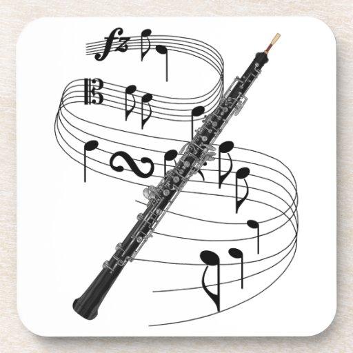 Oboe Beverage Coasters
