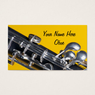 Oboe business card