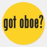 ¿oboe conseguido? etiqueta