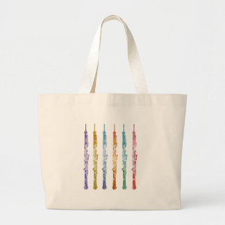 Oboe Crayons Canvas Bags